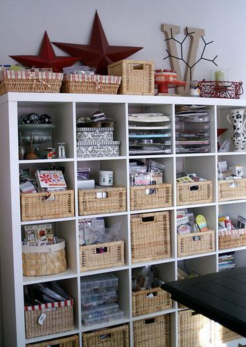 Scrapbook room organization ideas