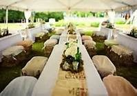 outside country wedding reception - Bing Images
