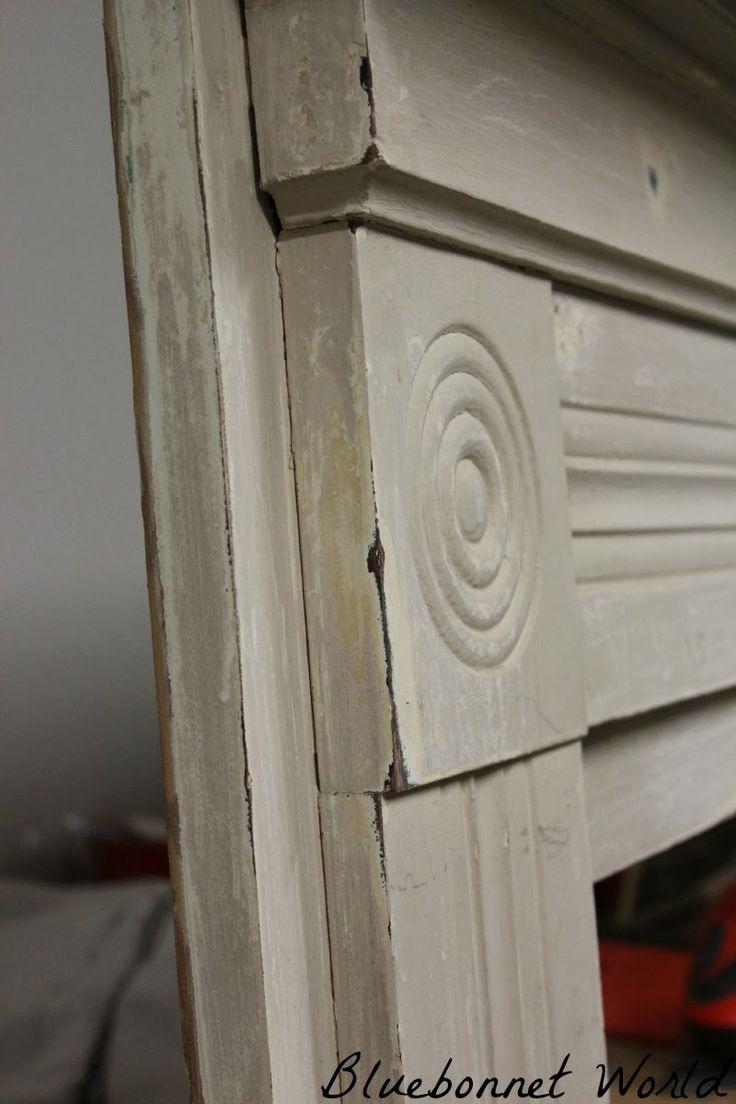#fireplace mantle headboard