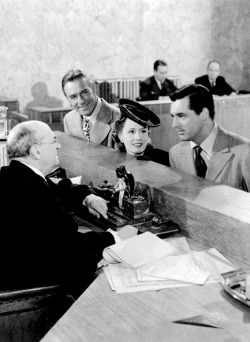 Randolph Scott, Irene Dunne & Cary Grant ~ My Favorite Wife, 1940