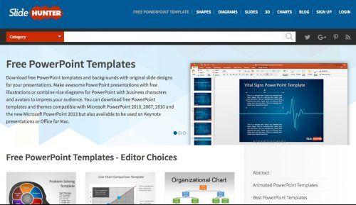 10 páginas web con plantillas PowerPoint gratuitas para crear presentaciones