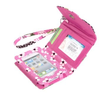 Super Smart Wristlet | Vera Bradley. Holds your iphone in your wallet.