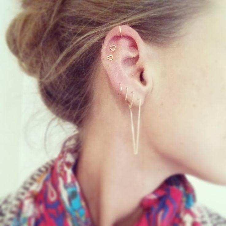 BonBon Boutique gold fill earrings