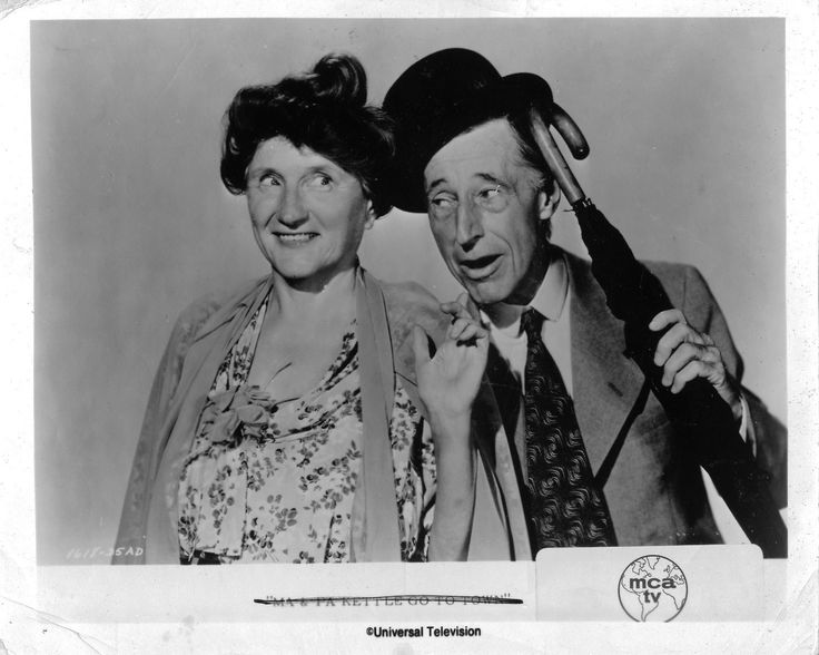Fabulous Hollywood Memories - Your best source for movie memorabilia, photos and more : Marjorie Main Ma and Pa Kettle Original 8x10 photo H1493
