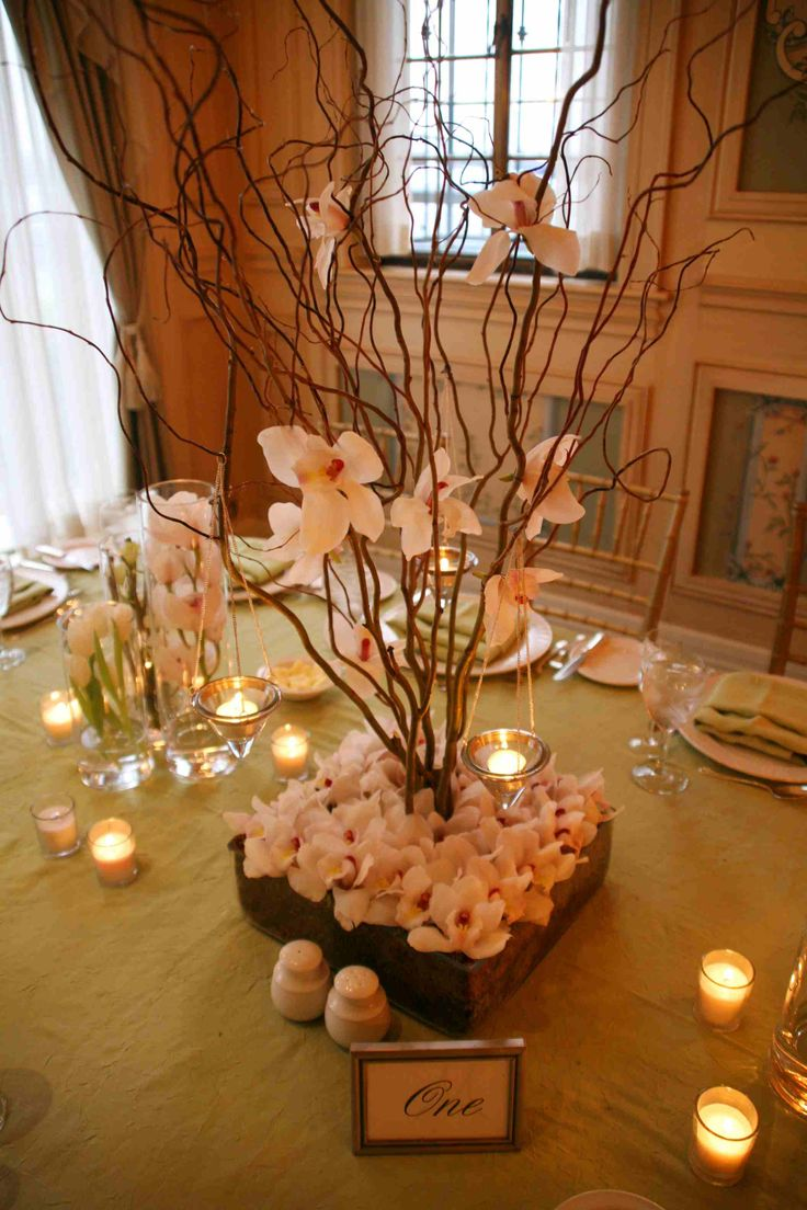 Wedding centerpieces low centerpiece tall