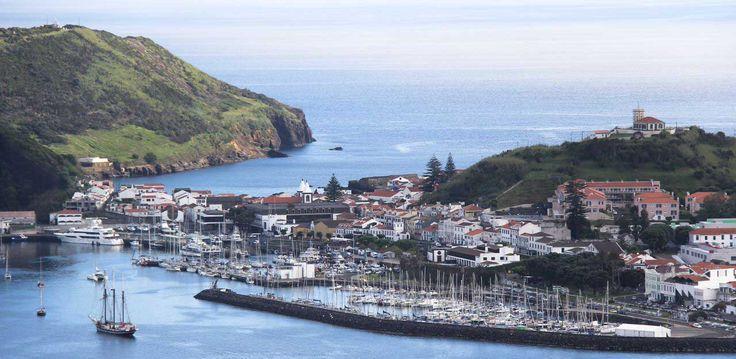 Horta, Faial Island, Azores. Photo by Leila Monteiro Lins. DISCOVER magazine.