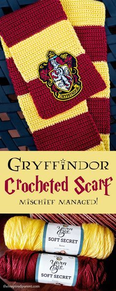 A simple crochet project for your favorite Harry Potter fan!
