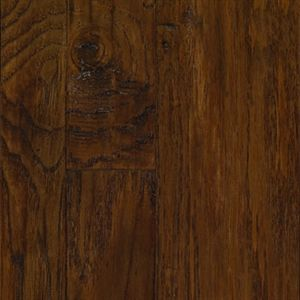 Picture Of Mannington Marrakech Morrocan Hickory   Clove Call For Pricing,  Dark Brown Hardwood, 15 Year Warranty