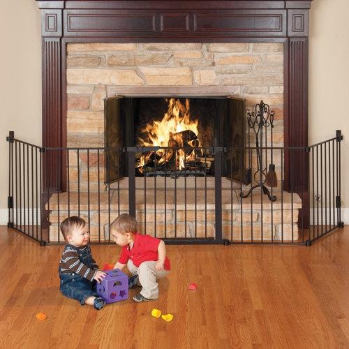 Auto Close HearthGate Fireplace Gate