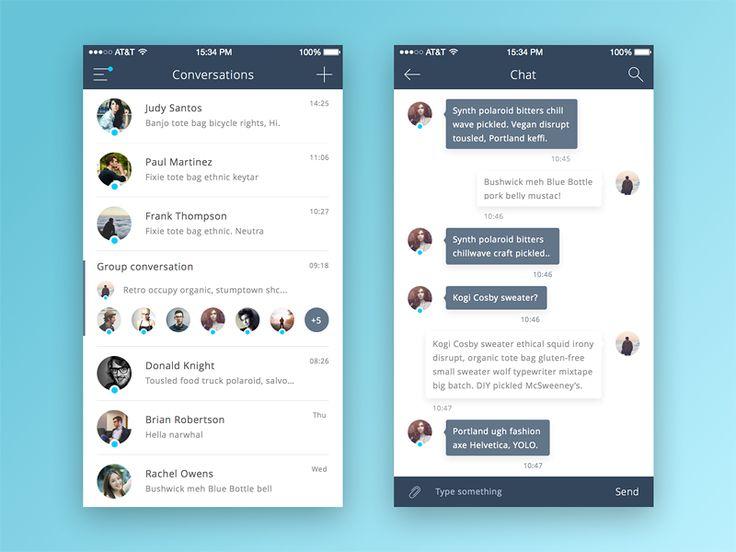 Chat App by Vadim Gromov