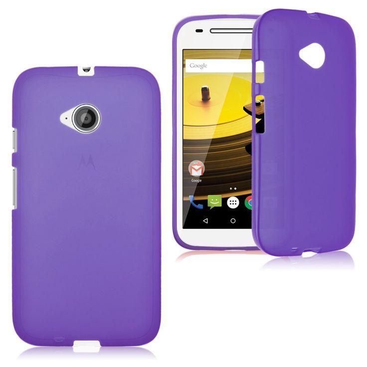 Phone Case: (Motorola Moto E 2nd Generation) TPU Matte Silicone Slim Case | eBay - U$1.29