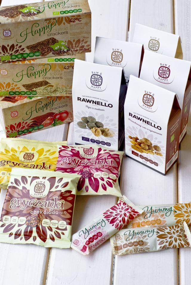 Roślinna - blog wegański: Raw and Happy - jedzenie inspirowane życiem