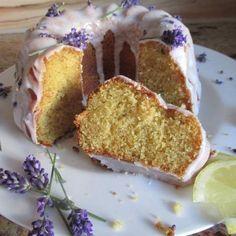 Rezept Lavendel Zitronen Kuchen von fauschi - Rezept der Kategorie Backen süß