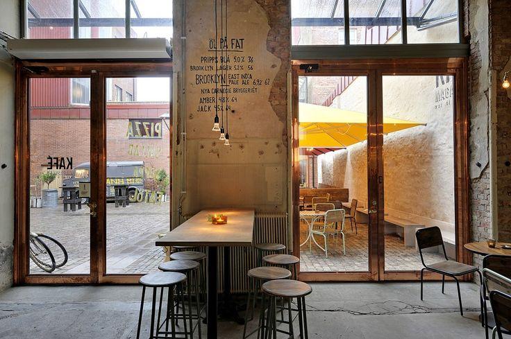 Kafe Magasinet / Robach Arkitektur