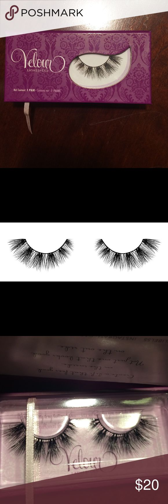 Velour Carli Mink Eyelashes Velour Carli Mink Eyelashes Velour Lashes Makeup False Eyelashes