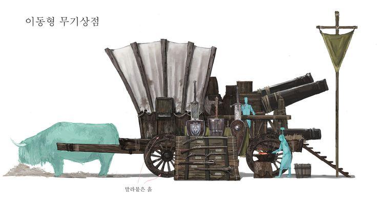 ArtStation - Wagon Store, JM Ahn