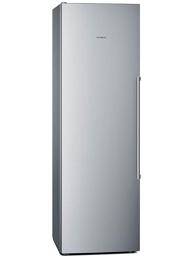 Siemens KS36VMI31 kylskåp har dynamisk kylning med kylfläkt, superKyla med automatisk återställning och airFresh filter. Skåpet håller också en jämn temperatur genom intelligent sensorteknologi.