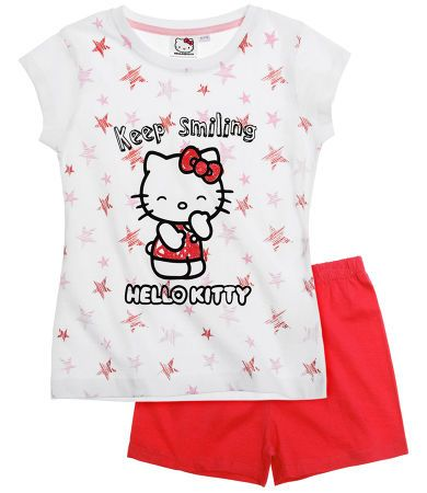 Hello Kitty Short Sleeve Pyjama red