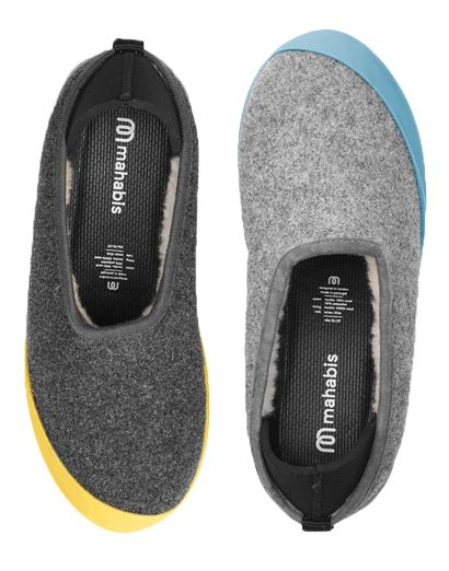 Larvik Light Grey Mahabis Classic Bundle (+FREE soles) – mahabis - the reinvention of slippers
