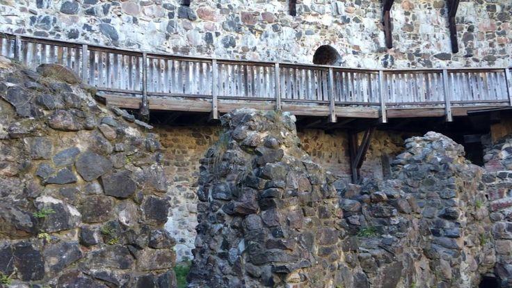 Внутри финского замка Расеборг