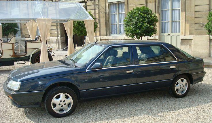 renault 25 limousine presidentielle ph2