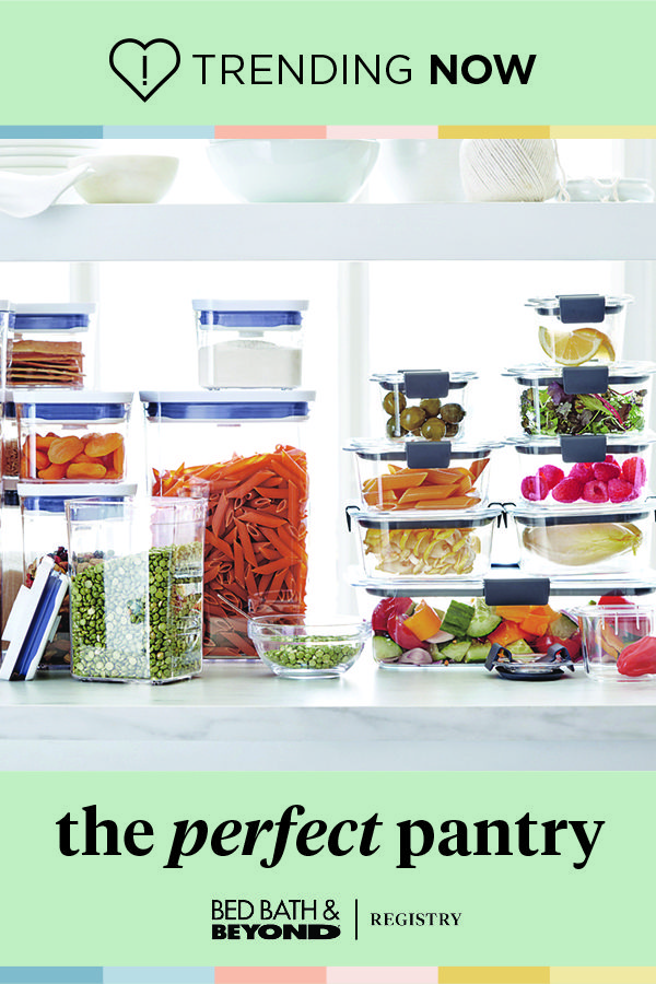 Create Your Wedding Registry And Organize Like A Boss In 2020 Rubbermaid Food Storage Set Food Storage Container Set
