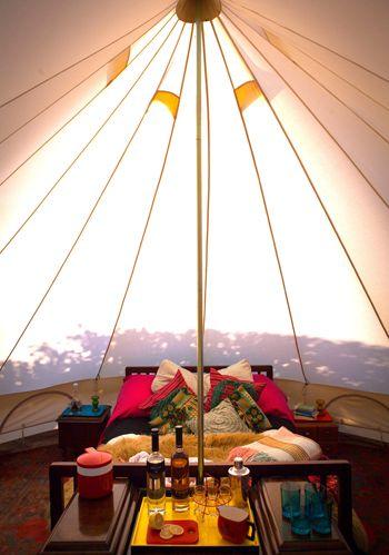summer camping nook