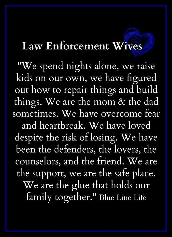 73 best Loving a LEO images on Pinterest Correctional officer wife