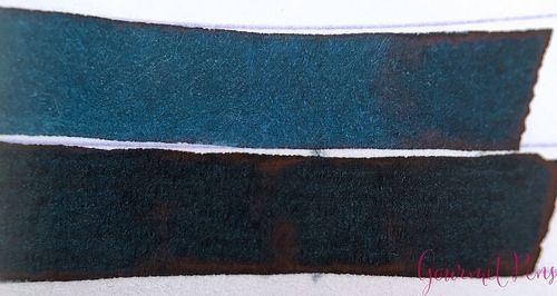 Ink Shot Review P.W. Akkerman Diep Duinwater Blauw @vulpennen 3 - Azizah Asgarali