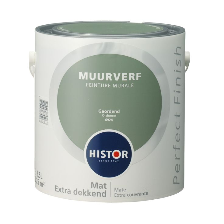 Histor Perfect Finish muurverf geordend 2,5 l