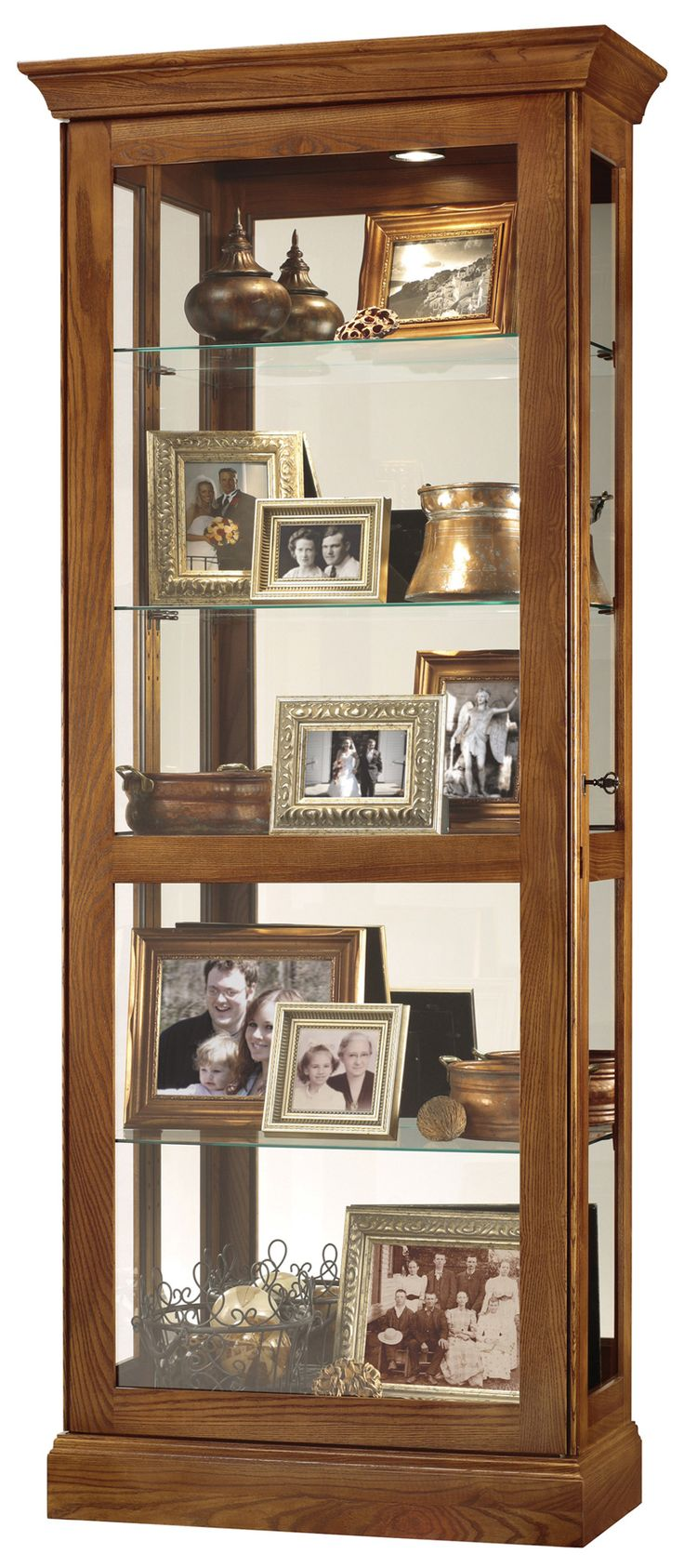 Berends II Curio Cabinet | Howard Miller | Home Gallery Stores