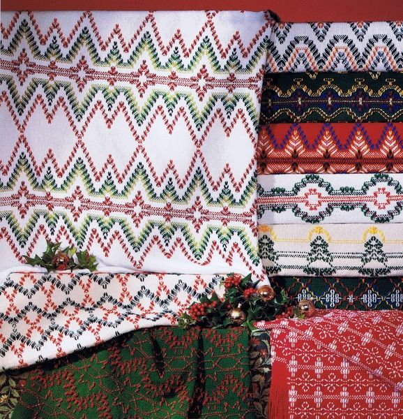 Huck or Swedish Embroidery (Weaving)