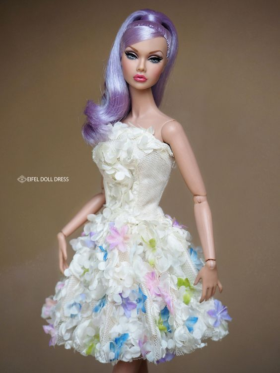 Шьем для Barbie Fashionistas и др кукол.