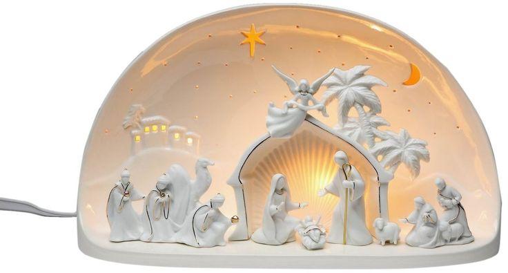 63 Best Christmas Ceramic Nativity Images On Pinterest