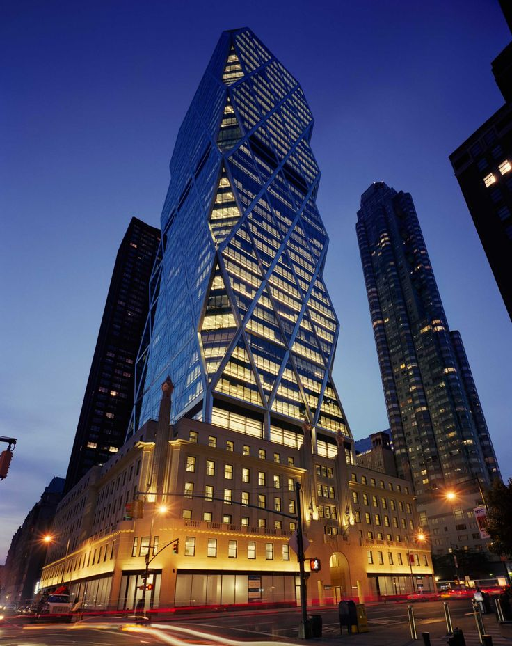 View our work on the Hearst Tower in Manhattan, which achieved a gold rating for being environmentally sensitive. Discover the building design, plans & more.