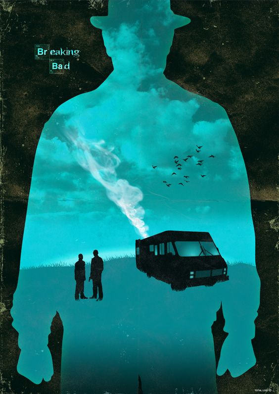 Breaking bad - Alternative poster. Designed by TOTAL LOST.