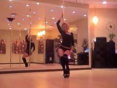 Pole Dance Tricks: Beginner Level - YouTube