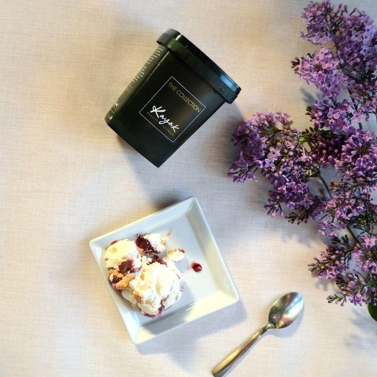Kayak Cheesecake Ice Cream... Pure Magic!