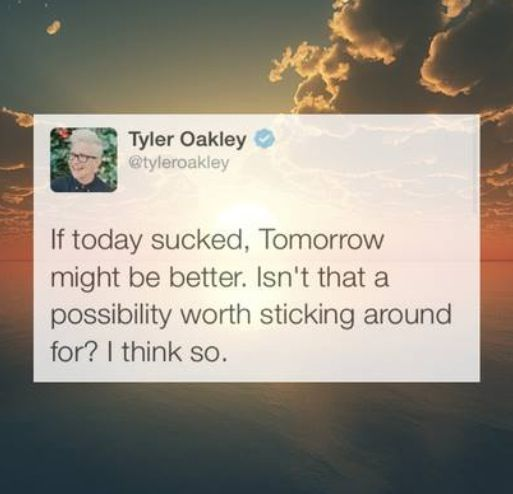 YouTube YouTuber Tyler Oakley quote