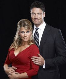 Alison Sweeney and James Scott/EJ and Sami