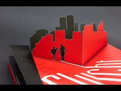 Léon The Professional Pop-Up Book by Jeremias Krakowiak | eine Stationenreise | Diploma - YouTube