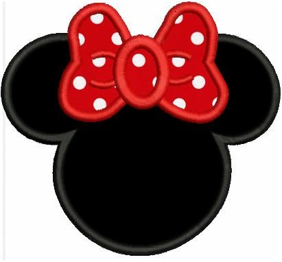 Free Disney Applique Designs | Minnie Mouse Applique Designs