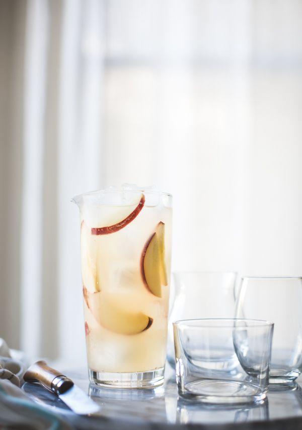 The Bojon Gourmet: White Nectarine Prosecco Sangría with Ginger & Elderflower