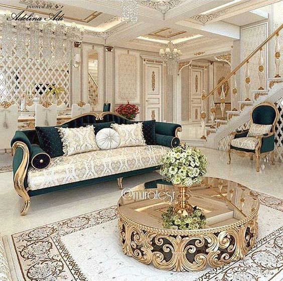 Ruang Tamu Mewah Modern Desainrumahid Com