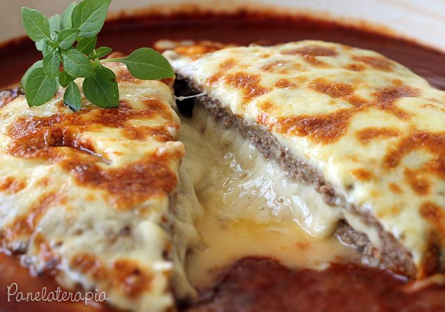PANELATERAPIA - Blog de Culinária, Gastronomia e Receitas: Polpettone Recheado