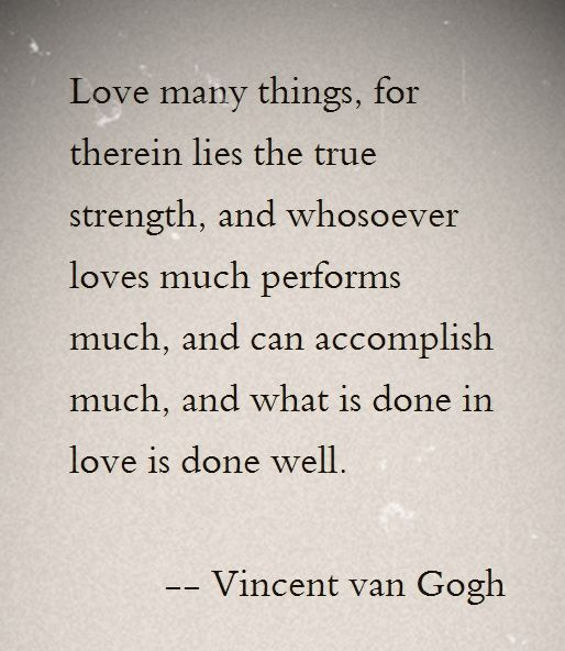 Vincent Van Gogh Quotes: 17 Best Ideas About Vincent Van Gogh On Pinterest