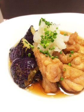 揚げ茄子と鶏のつゆ浸し by moriwaki [クックパッド] 簡単おいしい ...