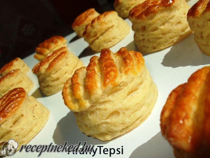 Kipróbált Hajtogatott sajtkrémes pogácsa recept egyenesen a Receptneked.hu gyűjteményéből. Küldte: aranytepsi