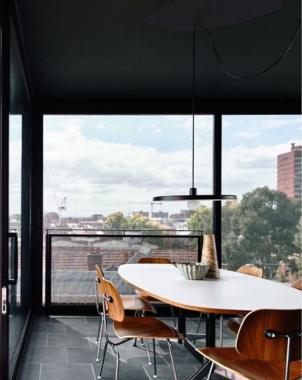 Converted Warehouse By Kennedy Nolan. White Dining Room TableModern ...