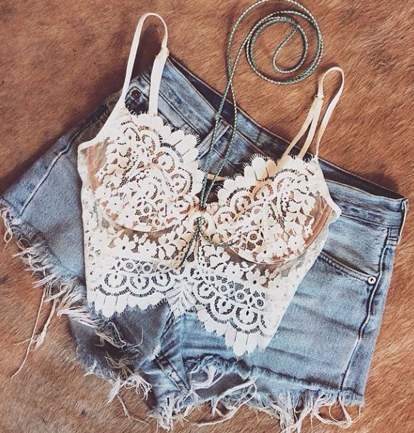 Cropped + short cintura alta